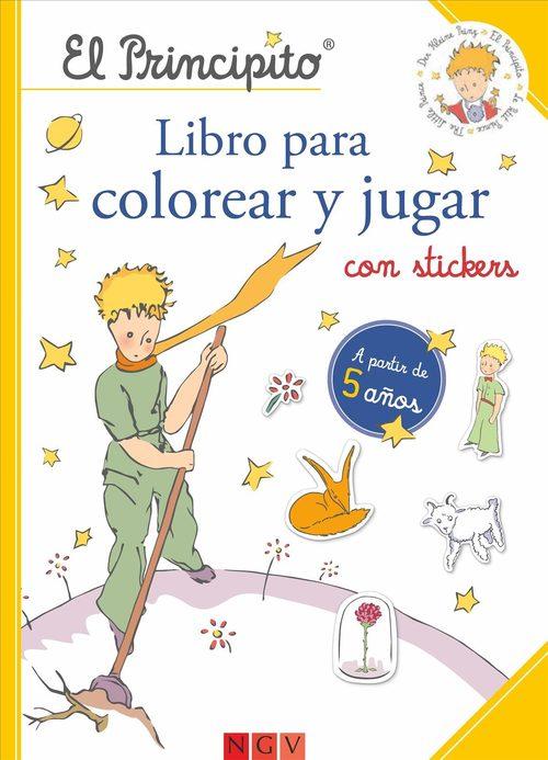 EL PRINCIPITO. LIBRO PARA COLOREAR Y JUGAR - VV.AA. - Sinopsis del ...