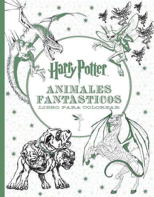 HARRY POTTER - ANIMALES FANTÁSTICOS. Libro para colorear - VV.AA ...