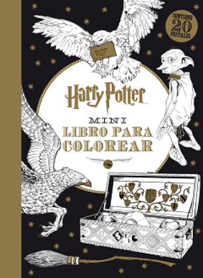HARRY POTTER Mini libro para colorear - VV.AA. - Sinopsis del libro ...