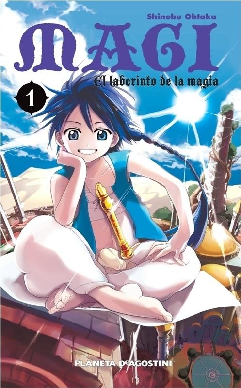 MAGI EL LABERINTO DE LA MAGIA Nº 01 - OHTAKA SHINOBU
